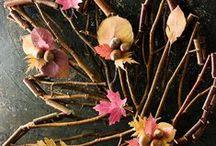 PODZIM / podzimní dekorace