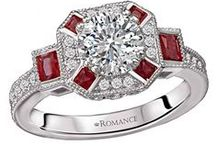 Color Gemstone Engagement Rings