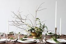 tablescapes / ornamentation | party decor
