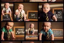 Fotos de bebês / Ideias para ensaios fotográficos e fotos caseiras criativas