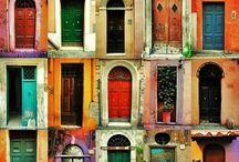 Doors / Make a memorable entrance, pass through a marvellous door!