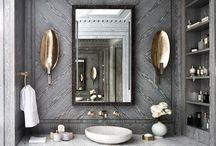 Bathrooms / Where the deco queen goes always alone, she should still feel like she rules the world!