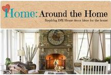 Home: Around the Home / Inspiration DIY and Home Decor ideas for all things home.  / by Denyse {Glitter Glue & Paint}