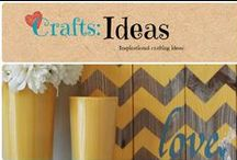 Craft: Ideas / Inspirational ideas for everything crafts. / by Denyse {Glitter Glue & Paint}