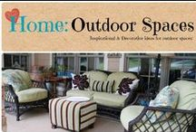 Home: Outdoor Spaces / Inspirational Ideas for your outdoor spaces / by Denyse {Glitter Glue & Paint}