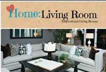 Home: Living Room / Beautiful inspirational Ideas for the living room.  / by Denyse {Glitter Glue & Paint}