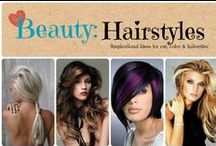 Beauty: Hairstyles / Inspirational ideas for color, cuts and styles / by Denyse {Glitter Glue & Paint}