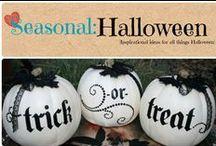 Seasonal: Halloween / Inspirational ideas for all things halloween