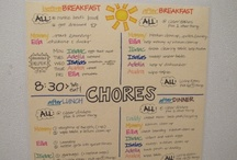 Chores and Housekeeping / by Amy M.
