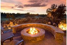 fire pit / by Robyn Bedsaul