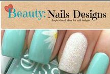 Beauty: Nail Designs / Inspirational ideas for nail designs / by Denyse {Glitter Glue & Paint}