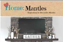 Home: Mantles / Inspirational decorative mantles.