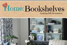 Home: Book Shelves / Inspiring DIY Bookshelves. / by Denyse {Glitter Glue & Paint}