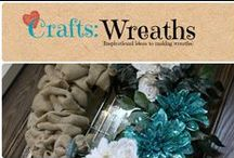 Crafts: Wreaths / Inspirational ideas for wreaths / by Denyse {Glitter Glue & Paint}