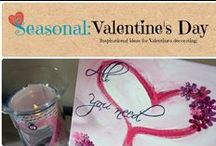 Seasonal: Valentine's Day / Inspirational ideas for Valentine's Day decorating
