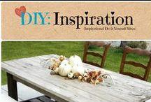 DIY: Inspiration / Inspiring ideas to Do-it-Yourself.