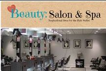 Beauty: Salon & Spa / Inspirational ides for the salon & spa / by Denyse {Glitter Glue & Paint}