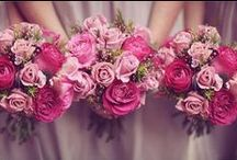 Pretty in Pink / Flowers and cakes to suit a pink theme.