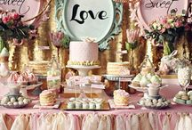 Sweet and Savory Bars / Includes any type of candy, dessert and savory style displays of goodies