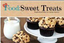 Food: Sweet Treats / Sweet treats from cupcakes. to cookies and all the yummy desserts in-between.