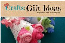 Craft: Gift Ideas / Inspirational ideas for gift giving / by Denyse {Glitter Glue & Paint}