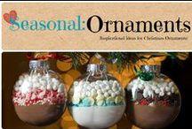 Seasonal: Ornaments / Inspirational ideas for Christmas ornaments