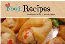 Food: Recipes / Inspirational recipes for delicious cooking. / by Denyse {Glitter Glue & Paint}