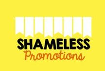 Shameless Promotions / Welcome to the Shameless Promotions Collaborative Board.  Here you will find the shameless promotion of TPT/TN stores and products, blogs, giveaways, and more!   To be added, FIRST follow this board then email {mrsmcla@gmail.com} Please make sure that what you are promoting is related to the field of education! / by Jasmine McClain