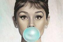 ~ Audrey Hepburn ~ / by D I N Y ➕
