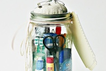 CRAFTS:  Mason Jars / They're not just for canning anymore. / by `a casarella