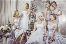 Bridesmaid Dresses / Bridesmaid gowns from the hitched.ie bridesmaid section