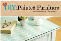 DIY: Painted Furniture / Do-it-Yourself painted furniture ideas.