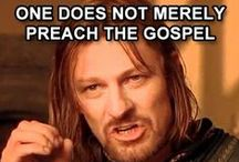 Preaching Christ Crucified / Gospel memes, topics and quotes, often from the blog, PreachingChristCrucified.com / by Jon J. Cardwell