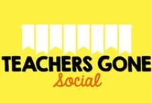 Teachers Gone SOCIAL! / Ever wanted to find other teachers on social media networks? Well, now you can!   If you would like to be added to this board, create a graphic with your name and social media names/links. Next, follow this board. Then, email me at mrsmcla@gmail and you will be able to share your names/links with your fellow teacher buddies!  Teachers, only pin your one graphic with all of your info. Afterwards, feel free to like or comment on others' pins.