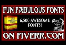 Fiverr / Products and services found on Gigs through Fiverr.com / by Jon J. Cardwell