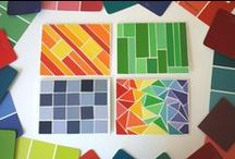 Paint chip crafts / by Mary Schwandt