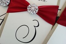 Escort Cards, Placecards &Table Numbers