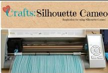 Crafts: Silhouette Cameo / Inspiration and tutorials using the Silhouette Cameo