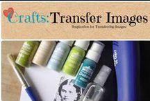 Crafts: Transfer Images / Tips & Tricks to transfer images.