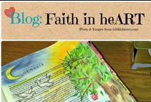 Blog: Faith in heART / Bible Journaling blog / by Denyse {Glitter Glue & Paint}