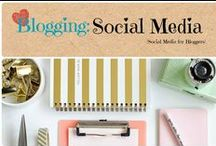 Blogging: Social Media / Ideas and inspiration to grow your social media.  / by Denyse {Glitter Glue & Paint}