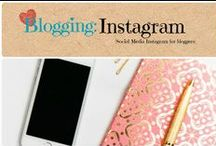 Blogging: Instagram / Bloggers guide to growing your Instagram. / by Denyse {Glitter Glue & Paint}