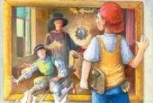 The Alchemist's Portrait - Sources of Inspiration / Check out the sources of inspiration for The Alchemist's Portrait. http://simon-rose.com/books/etc/historical-background/