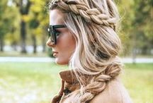 Hairstyle ideas / Would you like to look like a filmstar? Follow our board for inspiration and look fabulous!