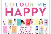 Boden Colour Me Happy Campaign