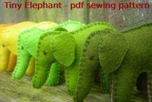 Слоники - слоны   Elephant