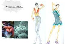 Fashion Design Idea Development (Sungkyunkwan University 2014 Fall) / Group Projects I (inspired by nature)
