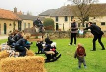 * GOÛTER DES PETITS PRINCES * / A paradise for children with various equestrian activities.