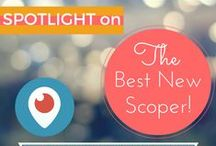 """Best of Periscope / If you have a love for life, for connection, and for learning and expansion, then this board will help you find the best in live streaming for your tastes.  Embrace more of the miraculous in your life; build your business in a way that gives you both the impact and the money you want; discover new self-actualization skills; connect with like-hearts, minds and spirits across the world.  If you'd like to be considered for """"Best New Scoper"""" follow @IndigoOcean on Twitter/PS and DM your Katch URL"""