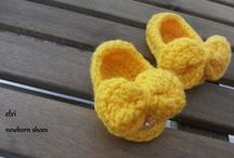 babies shoes / handmade baby shoes crocheted by elvi creation.